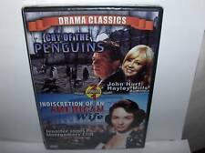 Cry Of Penguins & American Wife`2 Movies One DVD->Sealed->Free To US