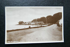 Vintage National Series RPPC 1900s 'West Bay, Inverary' Argyll