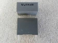10 condensateur MKT 150nF 630V 10% Arcotronics R60