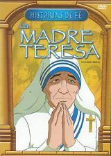 La Madre Teresa / Mother Teresa DVD NEW Caricaturas Historias De Fe La Biblia