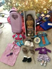 *RARE* Pleasant Co American Girl Doll Kaya Backpack carrier & More*SAME DAY SHIP