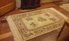 AWESOOM ORIENTAL CHINESE HAND KNOTTED NICHOLS AUBUSSON  DESIGN RUG 4X 6