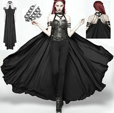 Harness Cape Cloak Coat Gothic Punk Steampunk Warrior Metal Chains PunkRave