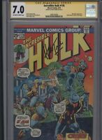 Incredible Hulk #176 CGC 8.5 SS Herb Trimpe ADAM WARLOCK 1974