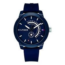 Tommy Hilfiger Analog Casual Denim Blue Mens 1791482
