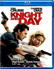 NEW BLU-RAY // KNIGHT & and DAY - Tom Cruise, Cameron Diaz, Peter Sarsgaard, Jor