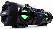 AEG SR 4360 BT Radio-Tuner /CD-Player  Tragbare Stereoanlage
