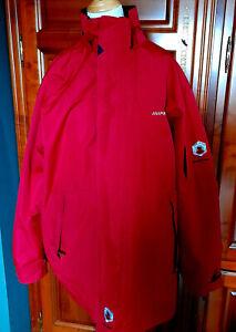 Parka ANAPURNA Platinium rouge Outdoor/Rando/Ski-blouson+capuches amovibles L