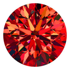 2.8 MM CERTIFIED Round Fancy Red Color VS Loose Natural Diamond Wholesale Lot