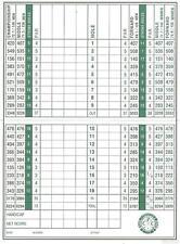 D'impression A5-cypress point club de golf score card (blank replica photo poster art)