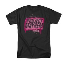 FIGHT CLUB PROJECT MAYHEM Licensed Adult Men's Graphic Tee Shirt SM-6XL