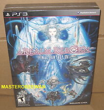 PS3 Final Fantasy XIV Online: A Realm Reborn Collector's Edition New Sealed