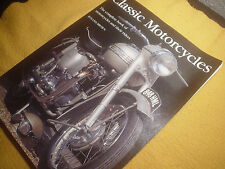 Classic Motorcycles by Roland Brown, 1999,Softcover