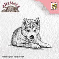 Motivstempel Clearstamp Stempel Puppy Hündchen Welpe Hund Nellie Snellen ANI011