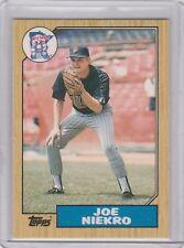 1987 Topps Traded  #89T Joe Niekro   Minnesota Twins