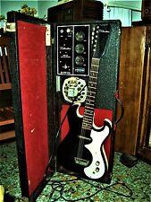 DANELECTRO/SILVERTONE 1448 amplificatore da garage-band a valvole FUNZIONANTE !