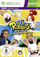 XBox 360 Rabbids Invasion NEU/OVP in Folie Die interaktive TV-Show Kinect Party