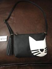 Deb & Dave Cat  Handbag /Bag /Purse Pocketbook NWT NEW