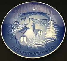 1980 Bing & Grondahl Christmas Plate - Christmas in the Woods
