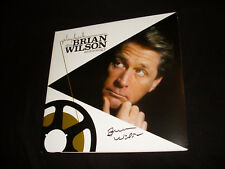 Brian Wilson signed Playback: Brian Wilson Anthology vinyl LP record Beach Boys
