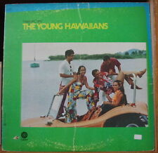 "THE YOUNG HAWAIIANS  ""HAWAII CALLS"" CANADA PRESS LP CAPITOL 1969"
