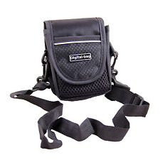 Black Shoulder Waist Camera Case Bag For Panasonic DCM LF1 LX7 FT30 SZ10 TZ70