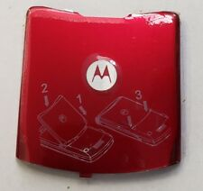 Lot Of 25 New Oem Motorola V3 Battery Doors (Red)