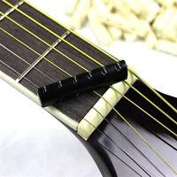 2Set Faux Buffalo Bone Bridge Saddle&Slotted Nut For 6 String Acoustic~JH