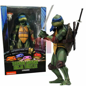 "NECA - Teenage Mutant Ninja Turtles 1990 Movie - Leonardo 7"" Action Figure"
