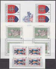 SLOVAKIA - 1993 COMPLETE PRINTING SHEET YEAR 1993 -**MNH**- KOMPLETT KLEINBOGEN
