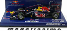 1:43 Minichamps Red Bull Racing F1 Team World Champion Showcar Vettel