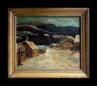 Stunning antique Impressionist Landscape painting. Mystery Artist? Signed Dated.