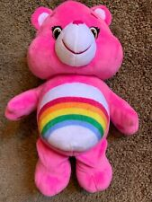 Care Bear Sound And Moves Pink Cheer Bear 13� Plush Battery Op 2017