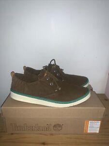 Timberland Shoes Uk 9 BNIB Boat Shoe