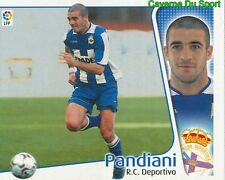 WALTER PANDIANI URUGUAY RC.DEPORTIVO CROMO STICKER LIGA ESTE 2005 PANINI