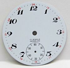Antique No Name Pocket Watch Porcelain Dial in Great Condition 36 mm.
