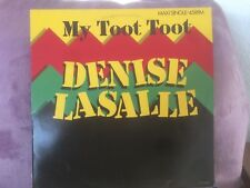 "DENISE LASALLE my toot toot 12"" MAXI 45T (a20)"