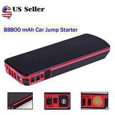 88800mAh Portable Car Jump Starter Booster Battery Emergency Charger Power Bank