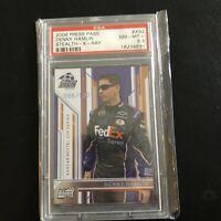 2006 Press Pass #X92 Denny Hamlin Stealth X Ray #ed Rookie Card