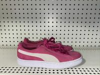 Puma Suede Classic Low Womens Casual Athletic Shoes Sneakers Size 6 Pink