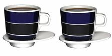 Striped Contemporary Cups & Saucers