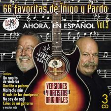 LAS 66 FAVORITAS DE JOSE MARIA IÑIGO Y JOSE RAMON PARDO VOL.3  -3CD