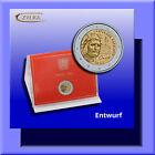 "2 Euro ""700. Todestag von Dante Alighieri"" Vatikan 2021: BU im Folder (stgl.)"