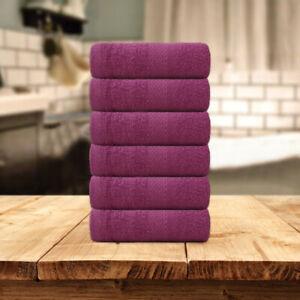 HURBANE HOME LUXURY 100% COTTON SUPER SOFT HAND BATHROOM TOWEL 650 GSM