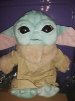 "NEW STYLE Mandalorian Baby Yoda Plush 13""  VERY Cuddly!  FAST Shipping from US"