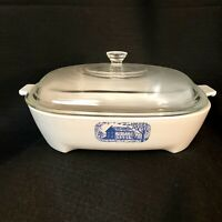 Vintage Corning Ware Browning Skillet Made for Amana Colonial Hs w/Lid #P-10-C