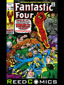 FANTASTIC FOUR OMNIBUS VOLUME 4 HARDCOVER JACK KIRBY DM VARIANT COVER *816 Pages