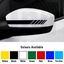 Volkswagen VW 2 x Wing Mirror Decal Sticker Car Golf Polo Bora Scirocco Passat