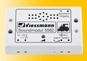 Viessmann 5562 Sound Module Lanz Bulldog, H0