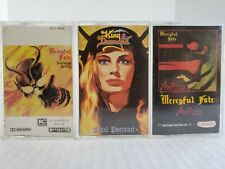 Mercyful Fate Melissa & Don't Break the Oath + King Diamond Fatal Portrait Tapes